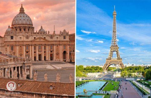 تور فرانسه ایتالیا ویژه نوروز