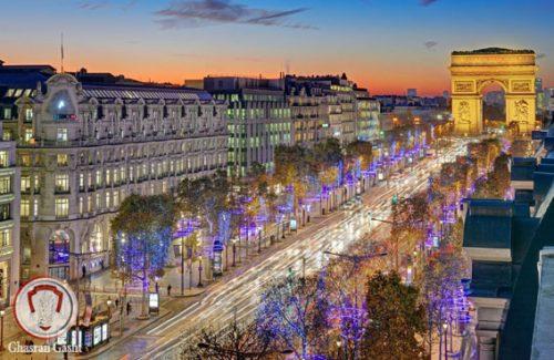 خیابان شانزه لیزه در پاریس