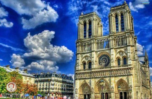 کلیسای نتردام تور پاریس زوریخ