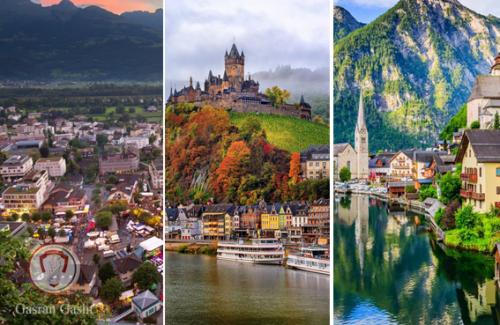 تور سوئیس لیختن اشتاین آلمان اتریش