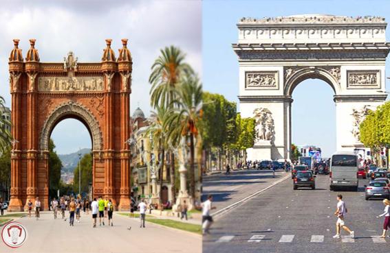 تور پاریس اسپانیا