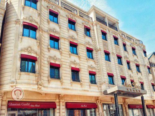 خرید-بلیت-ارزان-تور-اقامت-بهترین-هتل-و-بازدید-مکانهای-توریستی-هتل اطلس باکو