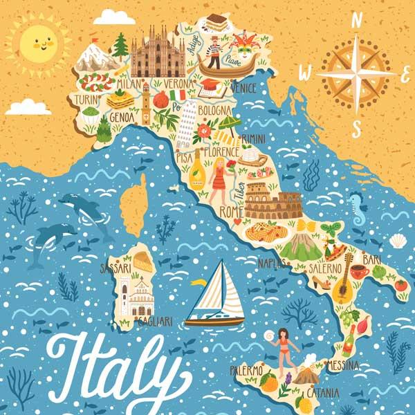 انواع ویزای توریستی ایتالیا