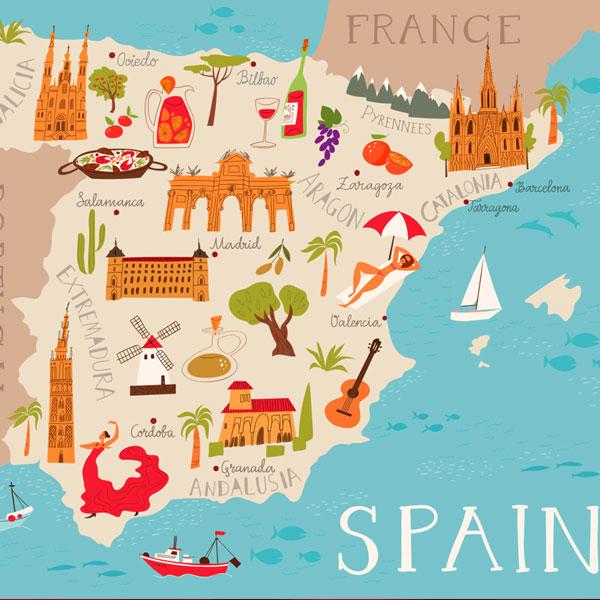 تمدید ویزای توریستی اسپانیا